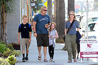 Helen Hunt and Family - Los Angeles - Exclusive pix