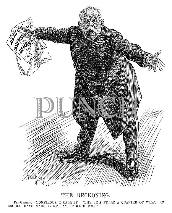 World war 1 cartoons punch 1919 04 23 323 tif