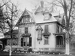 C. Chambers house at 69 Waterville Street in Waterbury as it looked during the early 1900s.