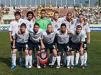US Under 17 National Team Starting Eleven. US Under-17 Men's National Team defeated United Arab Emirates 1-0 at Gateway International  Stadium in Ijebu-Ode, Nigeria on November 1, 2009.