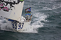 Transat Jacques Vabre 2011. Le Havre. France.Pictures of Team Concise skippered by Ned Collier Wakefield with Sam Goodchild