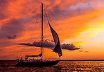 Personal Work<br /> <br /> Dropping the sails coming into port on the full moon low tide. June 14, 2014.