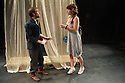 Anton Chekhov's THE SEAGULL, in a new version by Anya Reiss, opens at Southwark Playhouse. Picture shows: Lily James (Nina) and Joseph Drake (Konstantin).