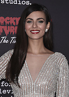 "WEST HOLLYWOOD, CA - OCTOBER 13, 2016:  Victoria Justice at the red carpet premiere of Fox's ""The Rock Horror Picture Show: Lets Do the Time Warp Again"" at The Roxy on October 13, 2016 in West Hollywood, California. Credit: mpi991/MediaPunch"