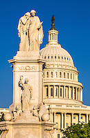 Peace Monument /  US Capitol Building Washington DC