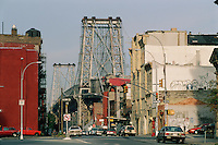 Williamsburg Bridge, Connecting Manhattan and Brooklyn, New York City, NY