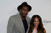 Amar'e Stoudemire and Alexis Stoudemire Attend the Calvin Klein Collection post show event at Spring Studios on September 12, 2013 New York by VIEWpress