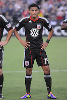 D.C. United midfielder Andy Najar (14). D.C. United defeated The Vancouver Whitecaps FC 4-0 at RFK Stadium, Saturday August 13 , 2011.