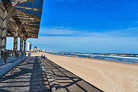 This little sunshade along the beach is a nice addition to South Padre Island.  It is a large area with picknic tables and restrooms and it is covered so it make for a nice time at the beach.