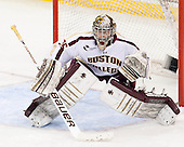 Parker Milner (BC - 35) - The Boston College Eagles defeated the visiting University of New Hampshire Wildcats 5-2 on Friday, January 11, 2013, at Kelley Rink in Conte Forum in Chestnut Hill, Massachusetts.