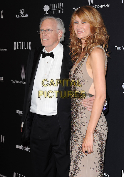 Bruce Dern and Laura Dern attends THE WEINSTEIN COMPANY &amp; NETFLIX 2014 GOLDEN GLOBES AFTER-PARTY held at The Beverly Hilton Hotel in Beverly Hills, California on January 12,2014                                                                               <br /> CAP/DVS<br /> &copy;DVS/Capital Pictures