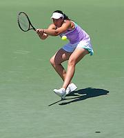 Marion BARTOLI (FRA) against Venus WILLIAMS (USA) in the semi-finals of the women's singles. Venus Williams beat Marion Bartoli 6-3 6-4..International Tennis - 2010 ATP World Tour - Sony Ericsson Open - Crandon Park Tennis Center - Key Biscayne - Miami - Florida - USA - Thu 1 Apr 2010..© Frey - Amn Images, Level 1, Barry House, 20-22 Worple Road, London, SW19 4DH, UK .Tel - +44 20 8947 0100.Fax -+44 20 8947 0117