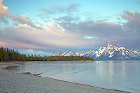 Jackson Lake Sunrise, Grand Teton National Park
