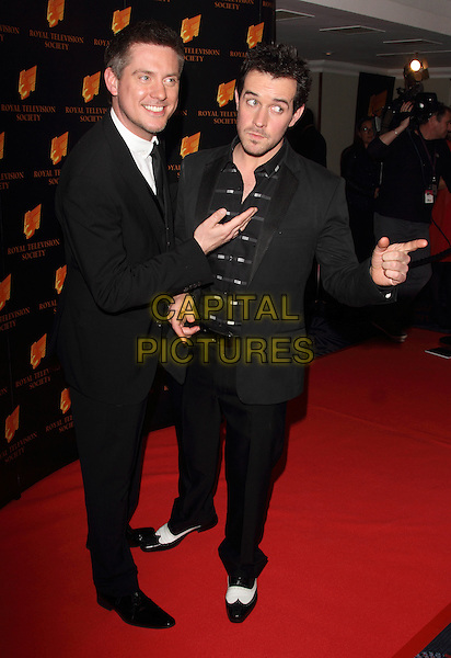 LONDON, UNITED KINGDOM - MARCH 18: Dick and Dom attends the RTS programme awards at Grosvenor House, on March 18, 2014 in London, England.<br /> CAP/ROS<br /> &copy;Steve Ross/Capital Pictures