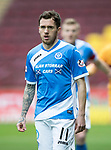 Motherwell v St Johnstone&hellip;18.03.17     SPFL    Fir Park<br />Danny Swanson<br />Picture by Graeme Hart.<br />Copyright Perthshire Picture Agency<br />Tel: 01738 623350  Mobile: 07990 594431