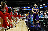 PITTSBURGH, PA - MARCH 19:  Keith Hornsby #4 of the LSU Tigers walks off the court after being defeated by the North Carolina State Wolfpack 66 to 65 during the second round of the 2015 NCAA Men's Basketball Tournament at Consol Energy Center on March 19, 2015 in Pittsburgh, Pennsylvania.  (Photo by Jared Wickerham/Getty Images)
