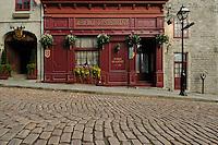 Canada, Montreal, Maison Pierre du Calvet, Rue Bonsecours
