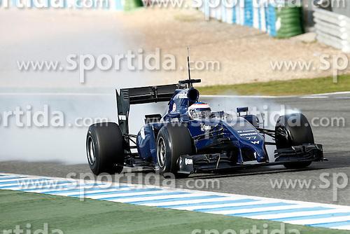 Motorsports: FIA Formula One World Championship 2014, Tests in Jerez de la Frontera, Valtteri Bottas (FIN, Williams F1 Team), *** Local Caption *** © pixathlon