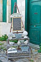 Savonnerie de Re souvenir shop at St Martin de Re,  Ile de Re, France