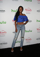 WEST HOLLYWOOD, CA - SEPTEMBER 09: Xosha Roquemore attends The Mindy Project 100th Episode Party at E.P. & L.P. on September 9, 2016 in West Hollywood, California. (Credit: Parisa Afsahi/MediaPunch).