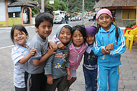 My favourite street children ever! In the small town of Banos, Ecuador (my second home).