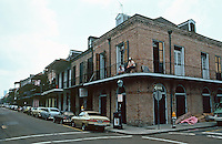 New Orleans:  Houses of the Architets'  Company, 1831. Architect Alexander Thompson Wood.  1101-1141 Royal St.