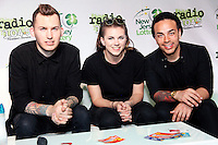 CAMDEN, NJ - JUNE 17 :  ***HOUSE COVERAGE*** Pvris pictured backstage at Radio 104.5 9th Birthday Show, day 2 at BB&T Pavillion in Camden, Jew Jersey on June 17, 2016 photo credit Star Shooter / MediaPunch