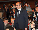 December 15, 2011, Tokyo, Japan - Michael Woodford, the ousted chief of Japans Olympuc Corp., arrives for a news conference at the Japan National Press Club in Tokyo on Thursday, December 15 2011, a few hours after the scandal-hit companys incumbent president held a press conference of his own. The 51-year-old Briton, who returned to Japan Tuesday to meet with investors and lawmakers, said he won't pursue a proxy war via investors to seek reinstatement as president and CEO of the 92-year-old camera and endoscope maker. Woodford, the first ever non-Japanese president and chief executive of Olympus, was stripped of his executive posts after questioning the firm's massive, dubious consulting fees for the acquisition of British medical equipment maker Gyrus Group in 2008 and other shady deals. (Photo by Natsuki Sakai/AFLO) [3615] -mis-