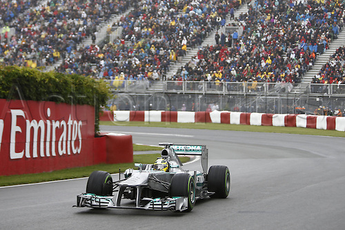 08.06.2013. Montreal, Canada.   FIA Formula One World Championship 2013 Grand Prix of Canada 9 Nico Rosberg ger Mercedes AMG Petronas F1 team   seen on qualification day in Montreal at Circuit Gilles Villeneuve