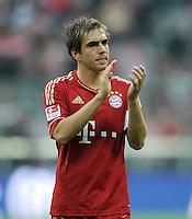 FUSSBALL   1. BUNDESLIGA  SAISON 2011/2012   11. Spieltag FC Bayern Muenchen - FC Nuernberg        29.10.2011 Philipp Lahm (FC Bayern Muenchen)