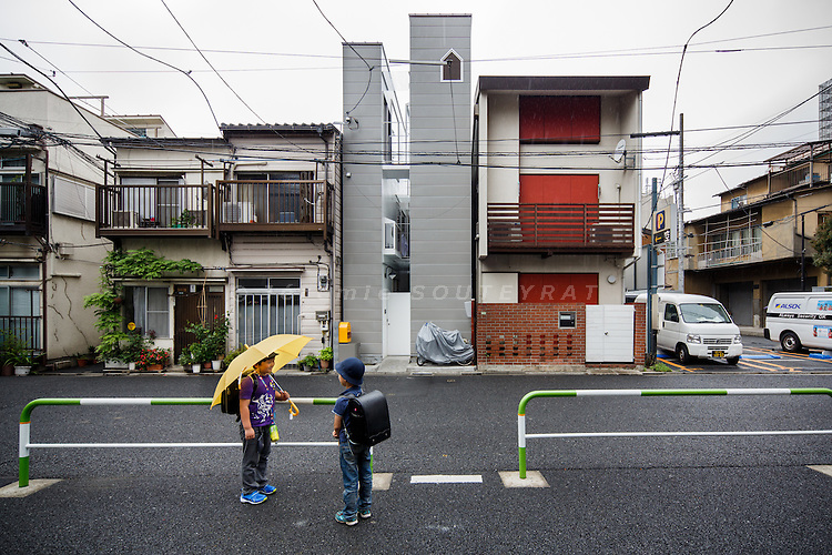 """Tokyo, May 2013 - """"A life with large opening"""" by ondesign."""