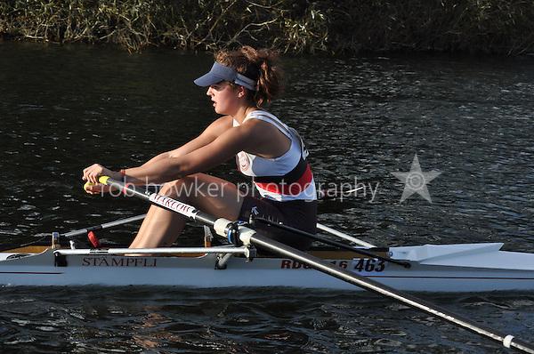 463 PAN .Reading Rowing Club Small Boats Head 2011. Tilehurst to Caversham 3,300m downstream. Sunday 16.10.2011