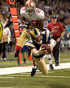 NFL Football: Rams vs 49'ers 1/1/2012