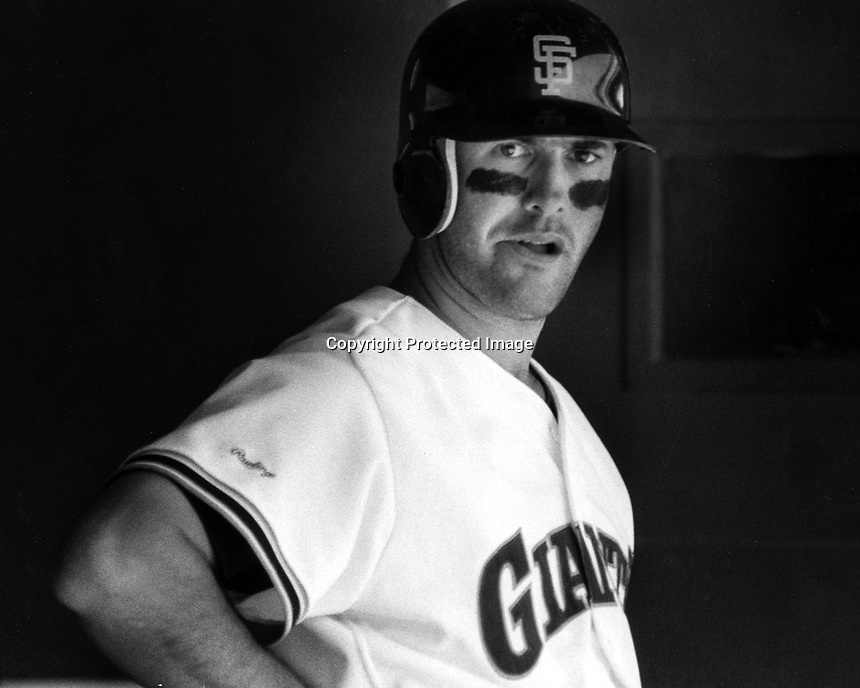 San Francisco Giants Will Clark (photo/Ron Riesterer)