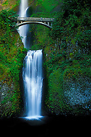 Multnomah Falls Waterfall in Oregon.