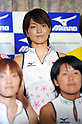 Miyuki Nakagawa (JPN),.JUNE 14, 2012 - Hockey : Japan National Team during the Press Conference about the entering representative of London Oiympic Games at Kishi Memorial Gymnasium, Tokyo, Japan. (Photo by Jun Tsukida/AFLO SPORT) [0003]