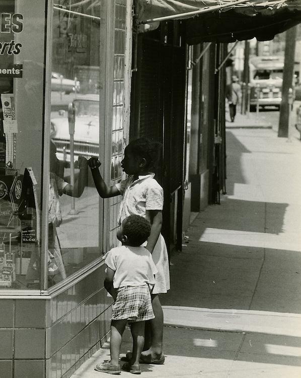 1958 Spring..Redevelopment.Downtown North (R-8)..CAPTION..Neal Clark Jr..NEG#.NRHA# 3341-A..Sleeve 132 Negative 12