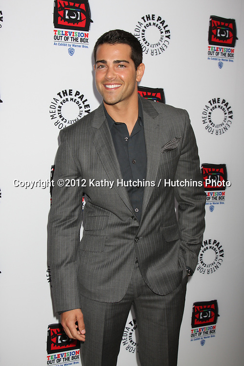 "LOS ANGELES - APR 12:  Jesse Metcalfe arrives at Warner Brothers ""Television: Out of the Box"" Exhibit Launch at Paley Center for Media on April 12, 2012 in Beverly Hills, CA"