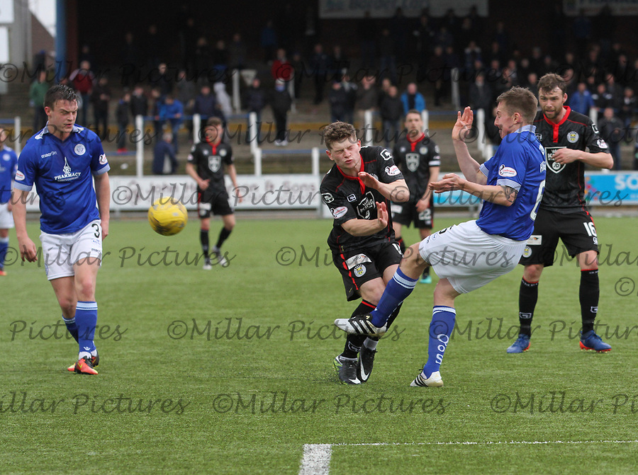 Queen of the South v St Mirren 180317