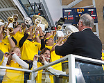 The University of Michigan men's ice hockey team lost, 5-3, to the U.S. National Development (Under-18) team at Yost Ice Arena in Ann Arbor, Mich., on January 4, 2013.