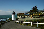 CA: Montara, California, lighthouse 2005 .Image: camontara103.Photo Copyright: Lee Foster, lee@fostertravel.com, www.fostertravel.com, (510) 549-2202