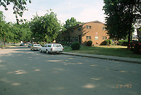 1993 June 21..Assisted Housing.Calvert Square..BEFORE RENOVATIONS.ROLL 1-1.BAGNALL ROAD & TIDEWATER DRIVE LOOKING NORTH...NEG#.NRHA#..
