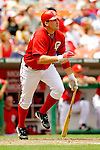 11 June 2006: Ryan Zimmerman, third baseman for the Washington Nationals, at bat during a game against the Philadelphia Phillies at RFK Stadium, in Washington, DC. The Nationals shut out the visiting Phillies 6-0 to take the series three games to one...Mandatory Photo Credit: Ed Wolfstein Photo..