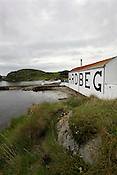 Ardbeg malt whisky distillery, Islay, Scotland.