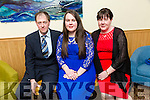 Attending the Lee Strand Garda Youth Achievement Awards at Ballyroe Heights Hotel on Friday were Joanne McCarthy, Sharon McCarthy and Denis McCarthy