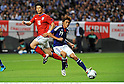 (R-L) Tadanari Lee (JPN), Ki Sung-Yueng (KOR),AUGUST 10, 2011 - Football / Soccer :Kirin Challenge Cup 2011 match between Japan 3-0 South Korea at Sapporo Dome in Sapporo, Hokkaido, Japan. (Photo by Takamoto Tokuhara/AFLO)