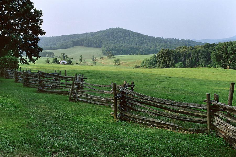 Farmland in in Madison County, VA. Photo/ Andrew Shurtleff