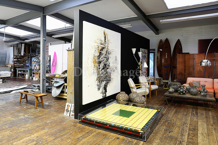 Artworks in the living room
