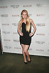 Hillary Flowers Attends Maxim Magazine's  Annual Maxim Party at the Greenwich Village Country Club, NY  2/4/12