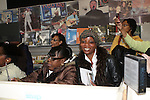 Atmosphere at El Debarge CD signing and Performance at J&R Music World, New York 11/10/30